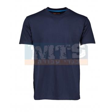 חולצת טריקו 100% כותנה שרוול קצר