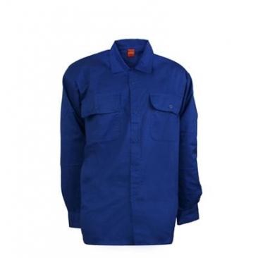 חולצת עבודה כחול כהה